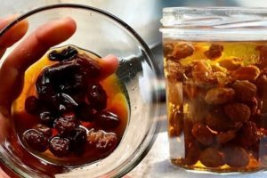 Potopite suho grožđe u vodu i pustite da odstoji 24 sata.Vaše srce će  …